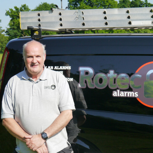 Mark Rowe Owner of Rotec Alarms